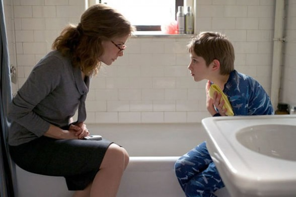 "Sandra Bullock and Thomas Horn in ""Extremely Loud and Incredibly Close"""