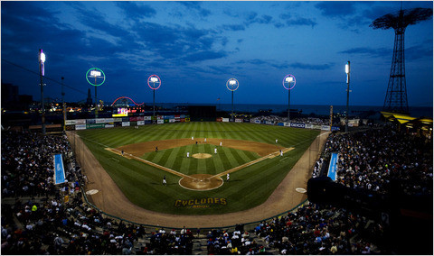 PLAY BALL: A LOOK AT CONEY ISLAND'S PROFESSIONAL BASEBALL TEAM, THE BROOKLYN CYCLONES