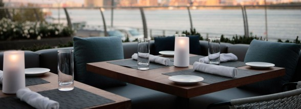 Riverpark: a delightful restaurant with spectacular Manhattan views